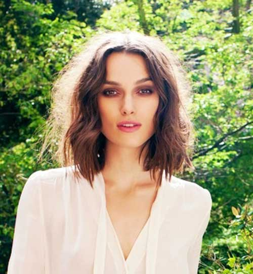 Mid Length Messy Bob Hairstyles