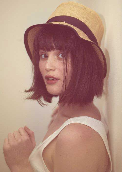 Nice Bob Haircuts with Bangs