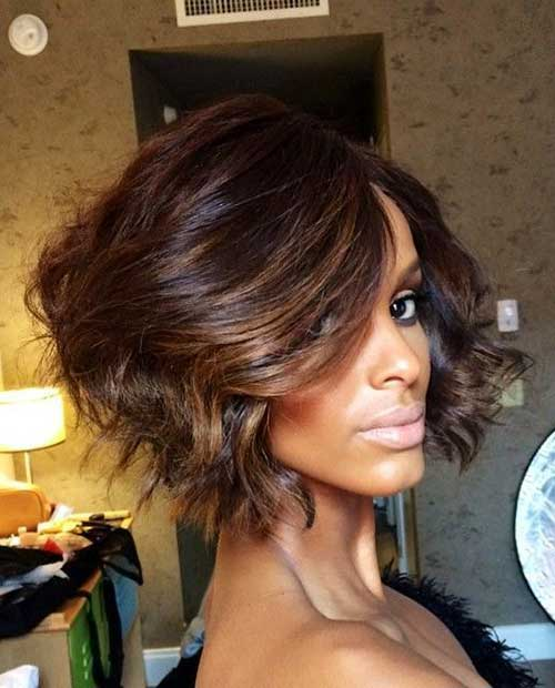 Ombre Bob Haircuts for Black Women