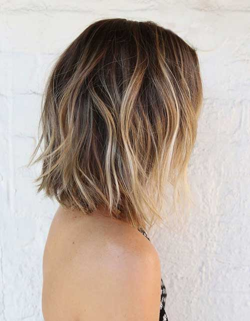 Ombre Medium Bob Hairstyles