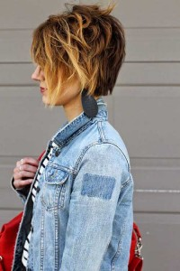 Ombre Stylish Bob Hairstyles