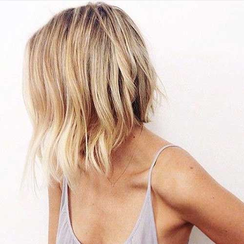 Popular Inverted Wavy Bob Haircuts