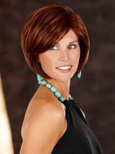 Red Bob Hairstyles Ideas for Over 40