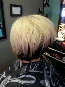 Reverse Bob Hairstyle Back View