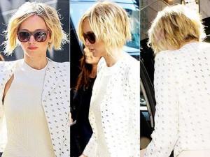 Short Blonde Choppy Bob Hairstyles 2014-2015