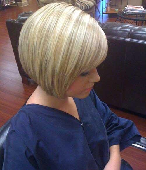 Short Blonde Bob 2014-2015