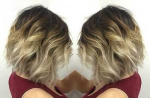 Short Bob Haircut Ideas Ombre
