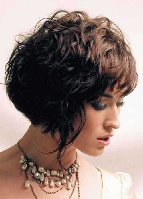 bob haircuts for thick curly hair 15 bob haircuts for thick wavy hair bob hairstyles 2018 5268