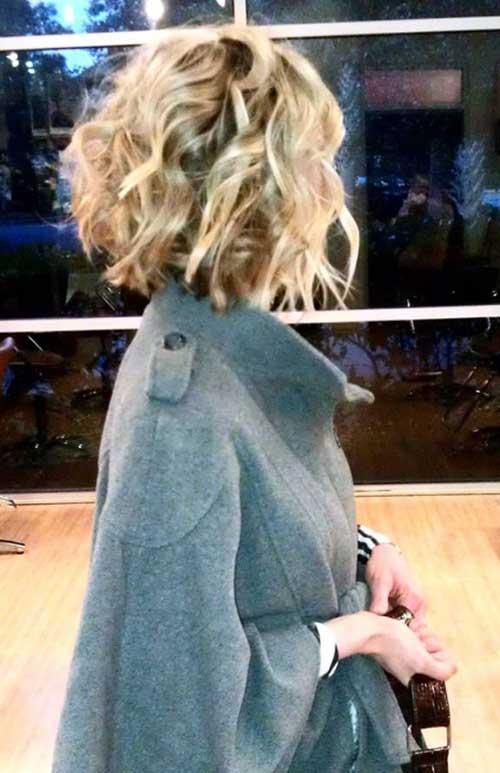 Short Curly Bob Haircut Ideas for 2015