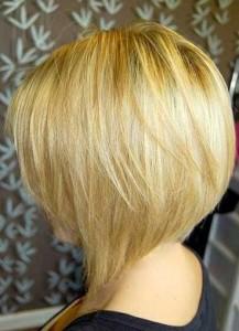 Short Graduated Blonde Bob Hairstyles