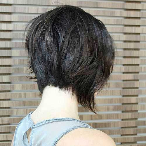 Dark Short Graduated Bobs