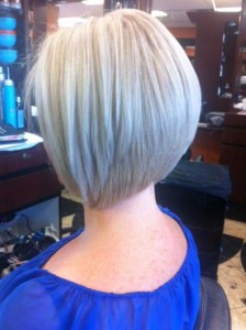 Short Graduated Straight Bob Hair