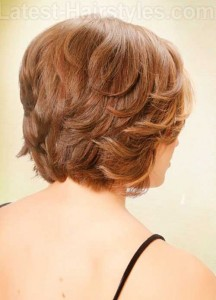 Short Layered Bob Hairstyles for Over 40