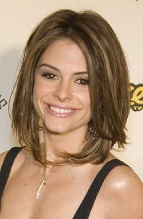 Shoulder Length Bob Hair for Women Over 40