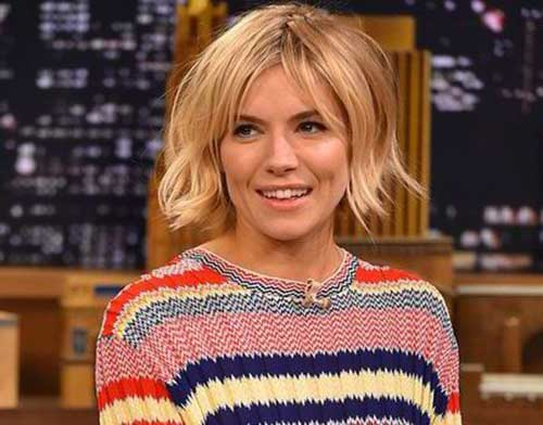 Sienna Miller Short Bob Ideas 2015