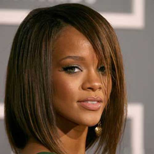 Straight Line Bob Hair for Black Women
