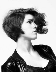 Stylish Asymmetrical Wavy Bob