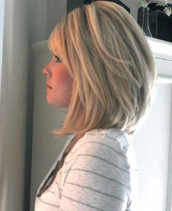 Thick Blonde Bob Hairstyles Images