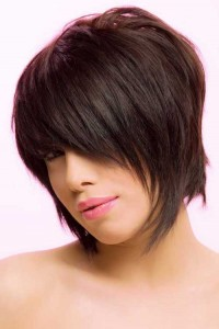 Thick Shaggy Straight Bob with Bangs Styles
