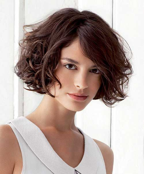 Thick Short Bob Cut Image