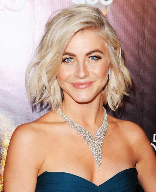 Tousled Blonde Bob Haircuts