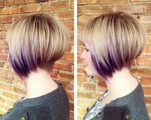 Trendy Shaved Nape Bob Haircuts