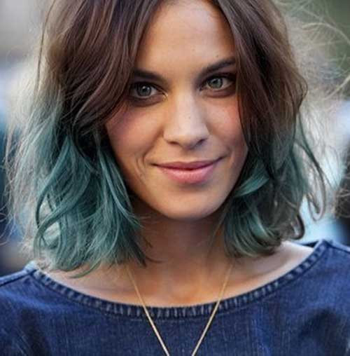 Latest Hair Style 2018 Attend Wedding Hair Tied Back: 15 Best Bob Hairstyles For Wavy Hair