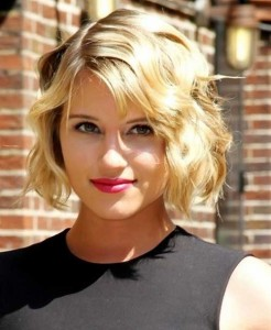 Wavy Bob Hairstyle for Prom