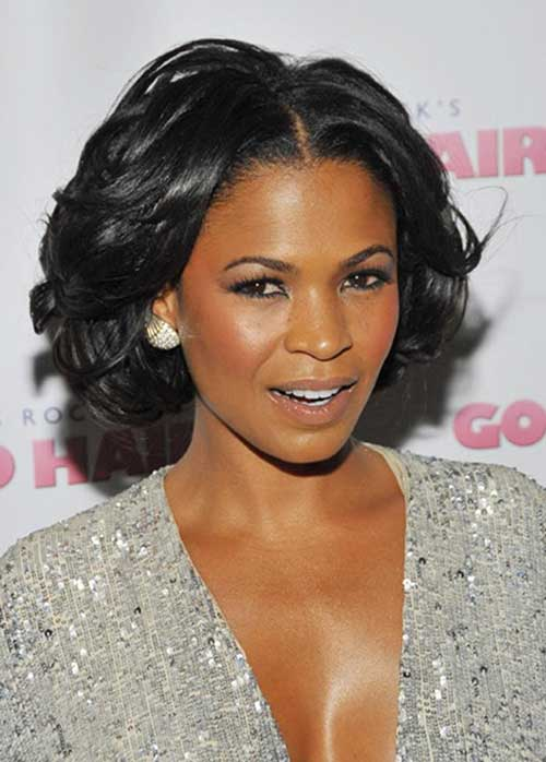 Wavy Bob Thick Haircuts for Black Women