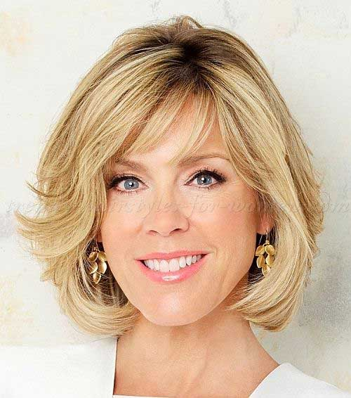 Bobs for Women Over 50-13
