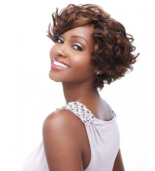 Short Bob Hairstyles for Black Women-12