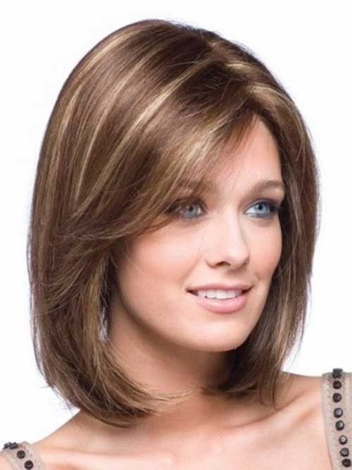Long Bob for Round Face-15