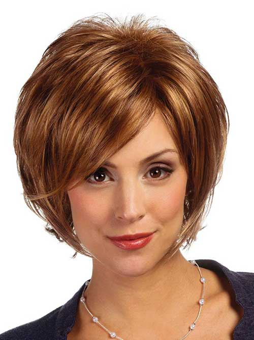 Bob Hairstyle with Bangs-23