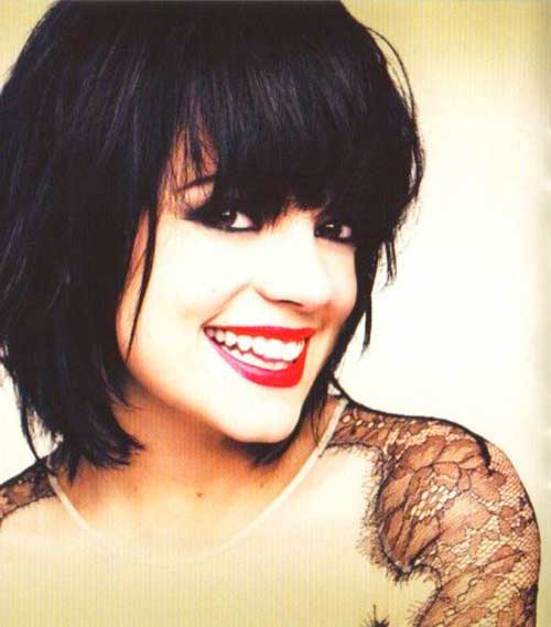 Bob Hairstyle with Bangs-40