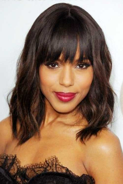 Bob Hairstyle with Bangs-44