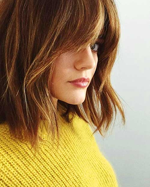 Bob Hairstyle with Bangs-48