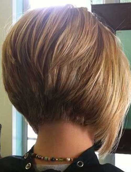 Short Stacked Bob Cuts-8