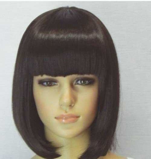 Bob Hairstyle with Bangs-9