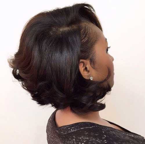 Short Bob Hairstyles for Black Women-9