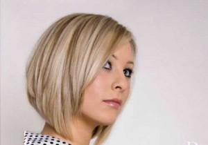 Angular Blonde Bob Hairstyles