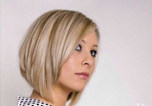 Angular Blonde Bob Hairstyles