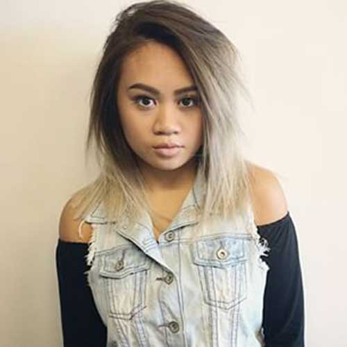 Best Ash Blonde Ombre Bob Hairstyles