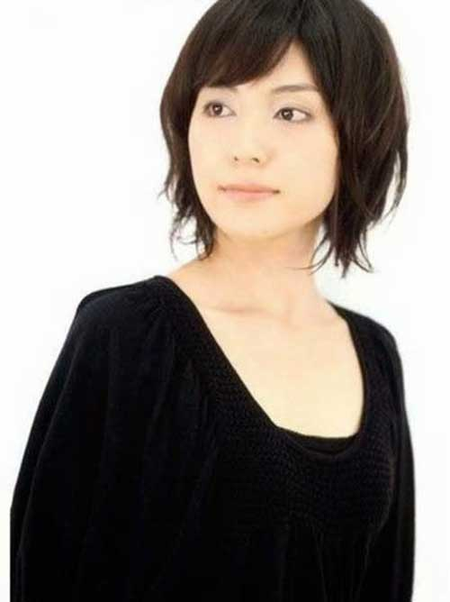 Asian Choppy Bob Hairstyles