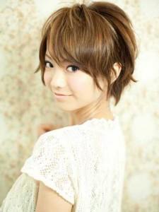 Asian Short Brown Bob Hairstyles