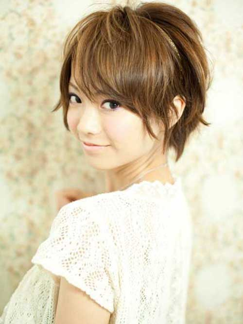 Asian Short Brown Bob Hairstyles