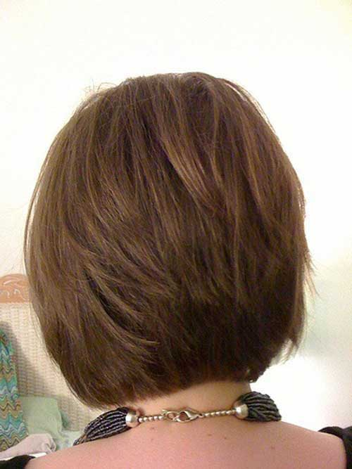 Best Back View Images Of Short Layered Bobs