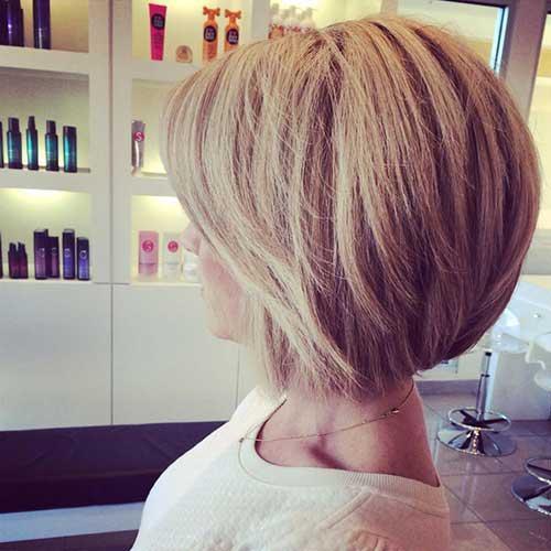 Nice Blonde Bob Style Haircuts