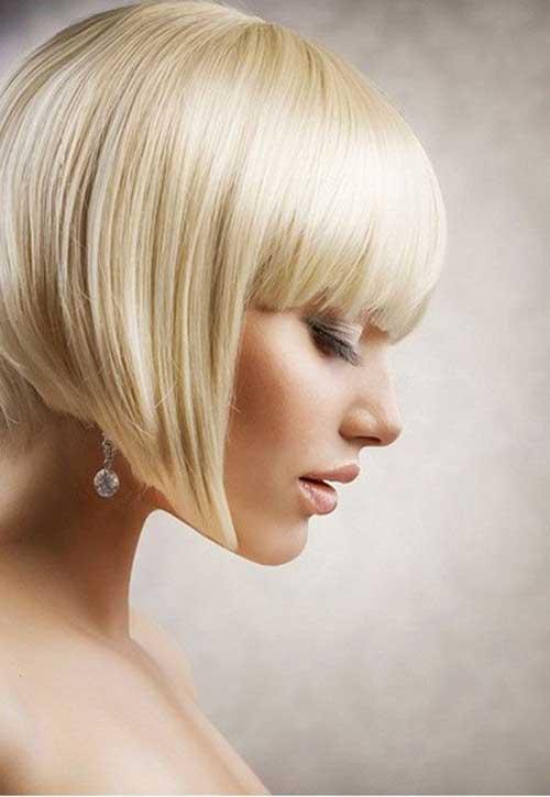Blonde Hair Inverted Bob Ideas