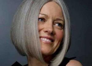Blunt Bob Hairstyles for Older Women