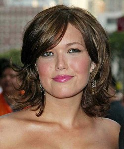Medium Bob Hairstyle For Oval Face